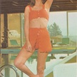 Retro Crochet Pattern - Women's Bikini Bathing Suit Set - 1970's original - Vintage Summer Fashion - Throw-back Style goes Modern