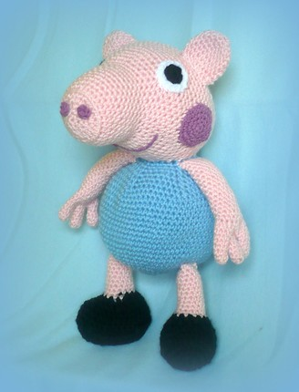 Crochet Peppa Pig's brother - pdf pattern