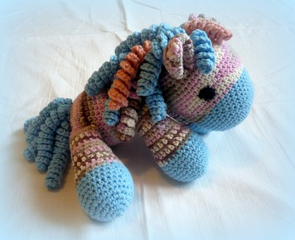 Crochet My Sweet Pony - pdf pattern