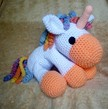 Crochet Unicorn - pdf pattern