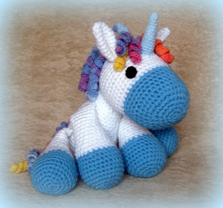 Crochet Unicorn Outfit : Crochet Unicorn - pdf pattern - Crochetland - Craftfoxes