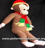 Curious Little Monkey Crochet Pattern