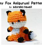 Tiny Fox Amigurumi - PDF Crochet Pattern