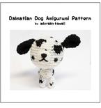 Dalmatian Dog Amigurumi - PDF Crochet Pattern