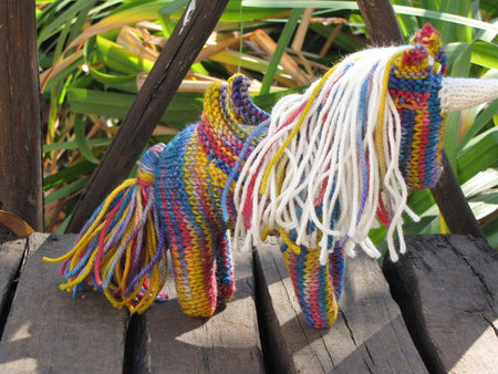 Unicorn Pegasus Knitting Pattern Pdf Mamma4earth S Shop