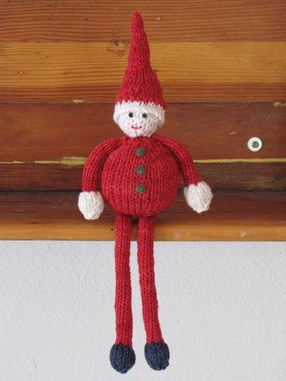 Christmas, Santa Gnome Pattern PDF