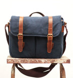 Waxed Canvas Camera Bag