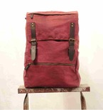 Waxed Canvas Knapsack