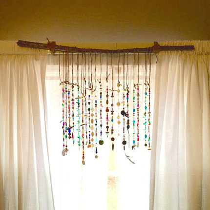 Bohemian Suncatcher for Your Curtains or Walls Sun Catcher