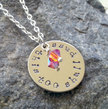 Inspirational Jewelry, Necklaces for Women, Women's Jewelry, Jewelry Quotes, This Too Shall Pass, Hand Stamped, Silver Necklaces