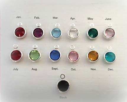 Additional Birthstones - To Be Added to Existing Order