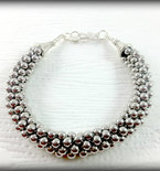 Silver Bracelet, Silver Beaded Bracelet, Silver beads, Bracelet, Gifts for Her, Trending, Jewelry