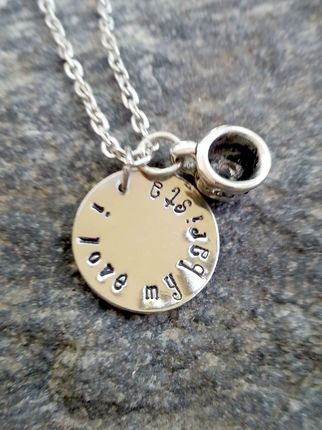 Barista -Barista Necklace,  I Love My Barista Necklace, Necklace, Jewelry, Coffee,  Starbucks