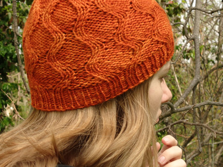 Ribbons   Curls Reversible Knit Hat PDF Pattern fbea1b615