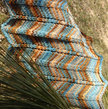Chevron Cowl PDF Pattern, hand dyed yarn, knit in the round,