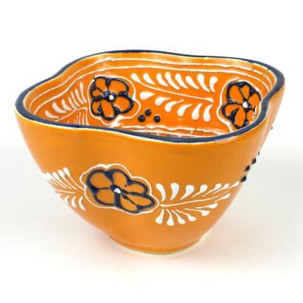 Mango-Colored Dip Bowl