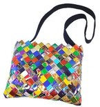 Over-the-Shoulder Candy-Wrapper Bag