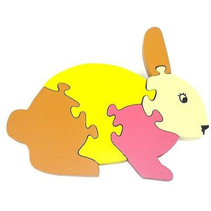 Wooden Bunny Puzzle
