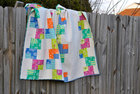Playing Cards Quilt in Safari Moon Fabrics by Art Gallery, Frances Newcombe - Free Shipping!
