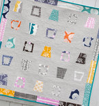 "Glass Half Full Quilt - Baby, Crib Size 45"" x 45"""