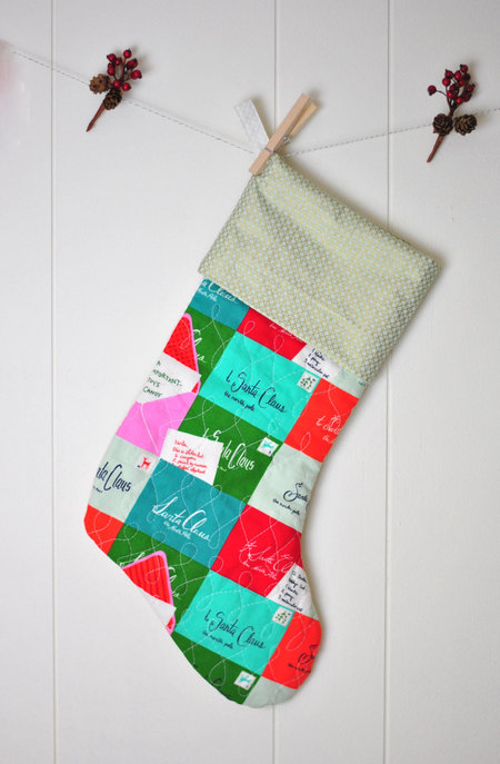 Quilted Christmas Stocking Pattern For Beginners Pdf