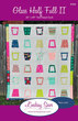 PDF Pattern Only: Glass Half Full II - Modern Twin Size Quilt Pattern