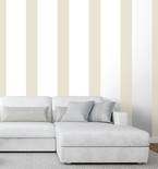 Gold Five-Inch Easy Stripe Wall Decals