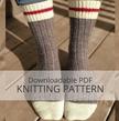 AVALON Ribbed Sock Knitting Pattern