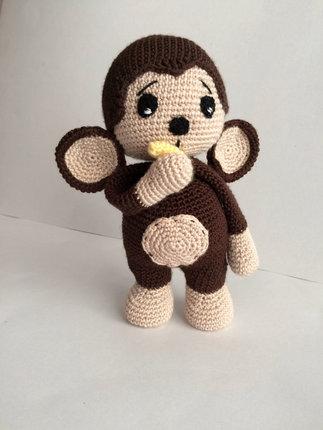 Crochet Pattern Cute Monkey Amigurumi Pdf