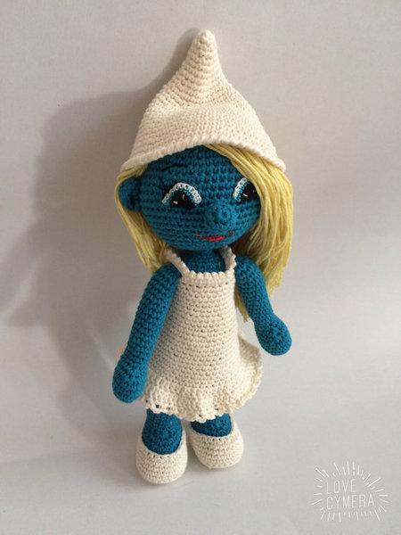 Crochet Pattern Smurfette Amigurumi PDF - IremDesign ...
