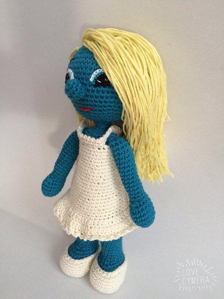 Crochet Pattern Smurfette Amigurumi PDF - IremDesign - Craftfoxes