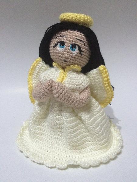 Crochet Pattern Angel Angie Amigurumi Pdf Iremdesign Craftfoxes
