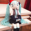 Crochet Pattern Hatsune Miku Doll Amigurumi Pdf