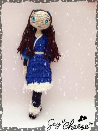 Crochet Pattern Avatar Katara Waterbender Amigurumi Pdf
