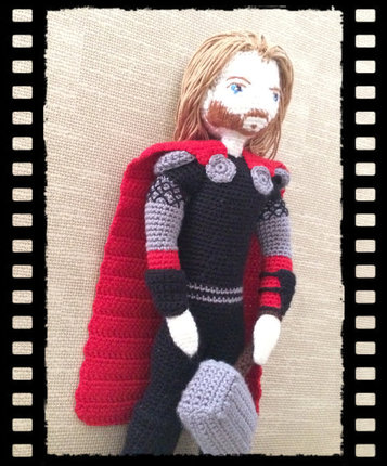 Crochet Pattern Thor The Thunder God Amigurumi PDF
