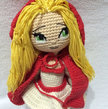 Crochet Pattern Little Red Riding Hood Girl Amigurumi PDF