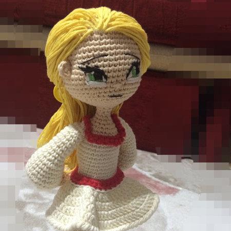Crochet Pattern Little Red Riding Hood Girl Amigurumi PDF ...