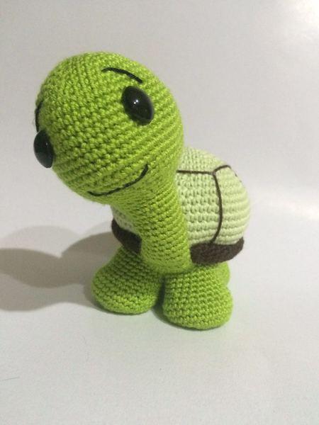 Crochet Pattern Cute Turtle Amigurumi Pdf Iremdesign