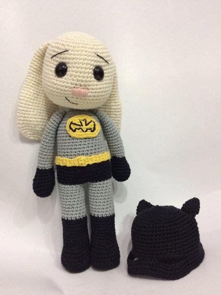 Batman Amigurumi Doll by Sushumo on DeviantArt | 600x450