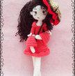 Amigurumi Girl with umrella - PDF Pattern