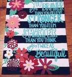 Custom Quote Canvas Painting