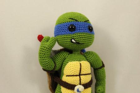 PATTERN Ninja Turtle TMNT Amigurumi Crochet PDF Instant | Etsy | 300x450
