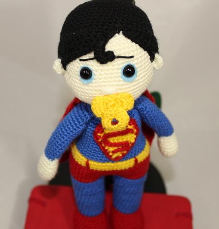 Boneco Superman Amigurumi no Elo7 | Ateliê da Bruna (CA929F) | 471x450