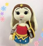 Wonder Bunny - Wonder Woman - Bunny version