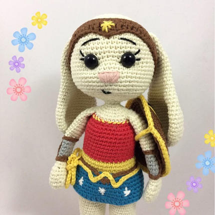 Wonder Bunny - Wonder Woman - Bunny version