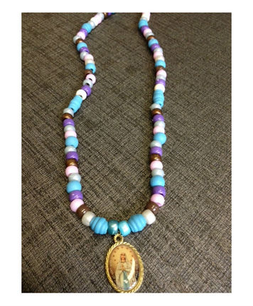 Fountain of Lourdes Bead Necklace