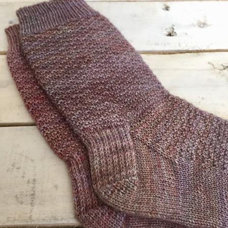 Morganite Textured Sock Knitting Pattern Kniterations Craftfoxes
