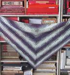 Beginner's Triangle Shawl (Crochet Pattern)