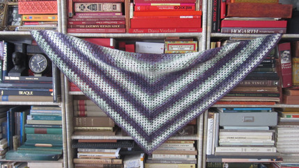Beginner's Triangle Shawl (Crochet Pattern)