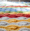 Scrappy Shells Blanket